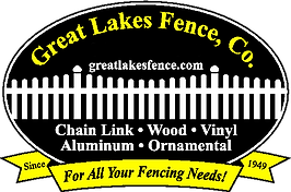 great lakes fence cleveland logo