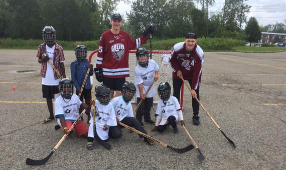 #PassItForward Hockey Event - August 2017