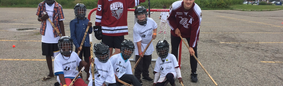 #PassItForward Hockey Event - August 2017