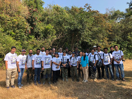 Spider India Meet 2018 at Amba Ghat.
