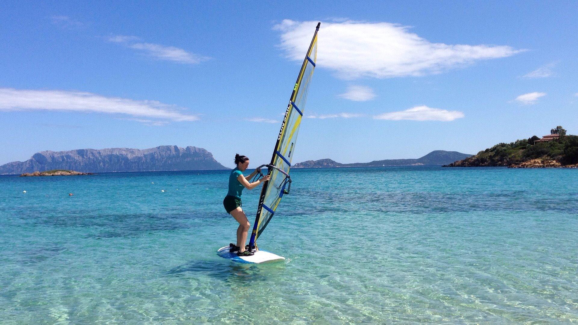 Alicja i windsyrfing
