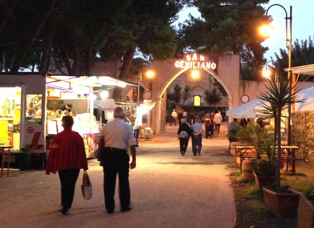 Festa w San Giminiano
