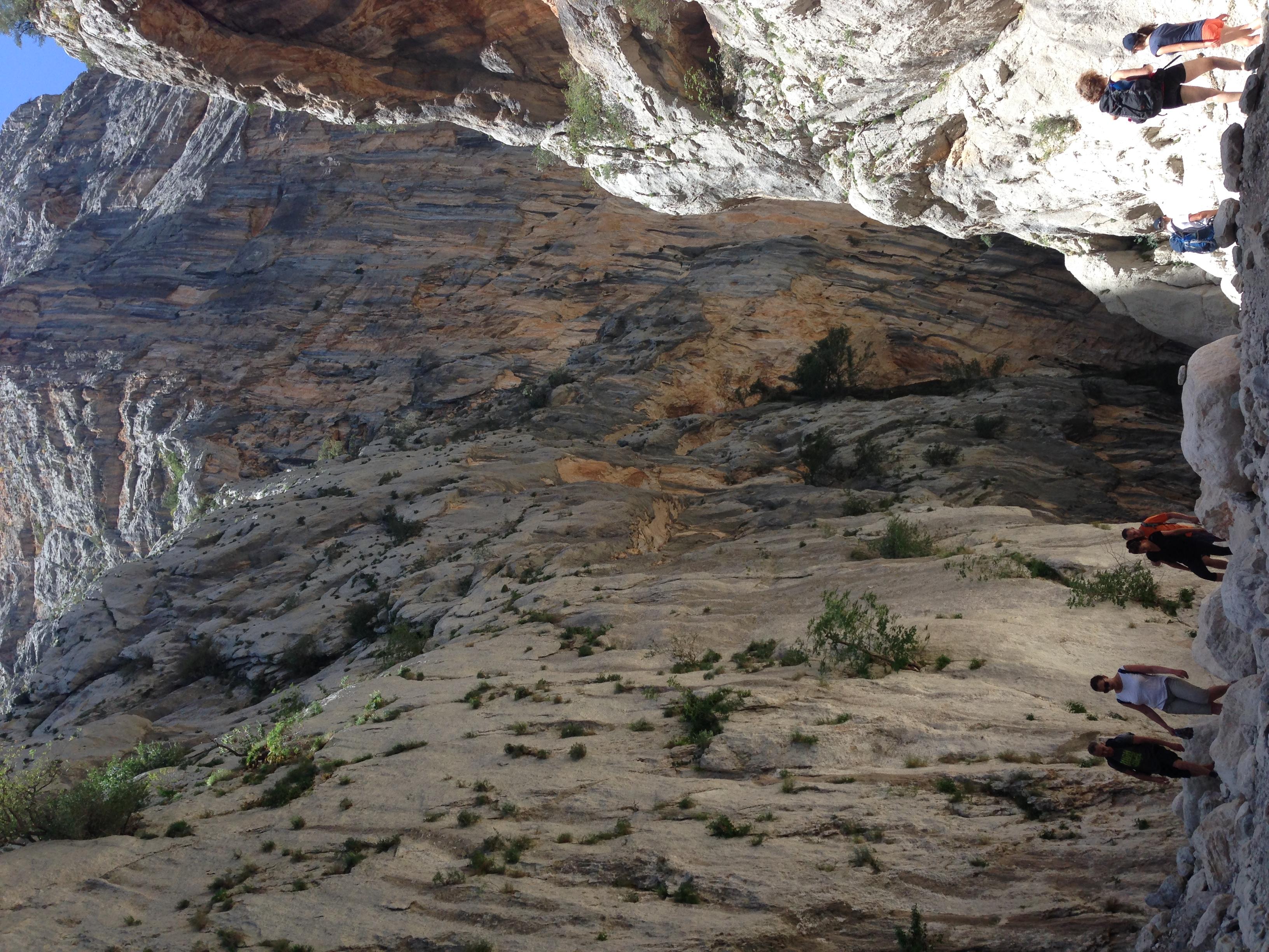 w kanionie Su Gorroppu