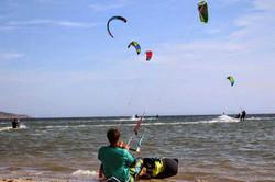 kitesurfing Porto Botte