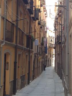 uliczki starego miasta w Cagliari
