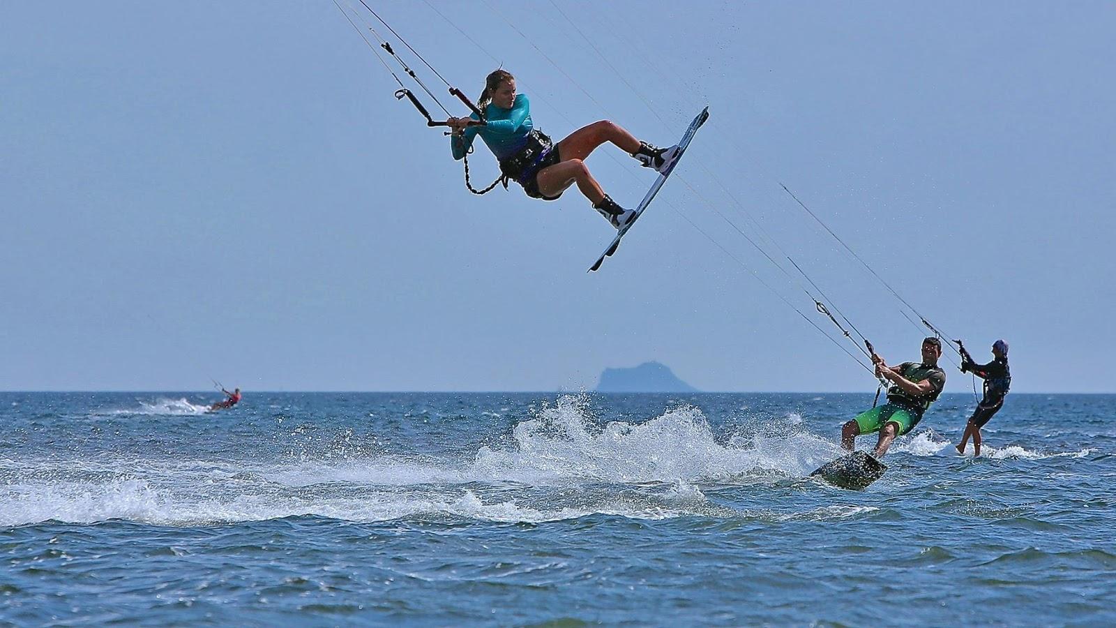 kitesurfing, Porto Botte
