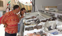 lokalny targ w Capoterra