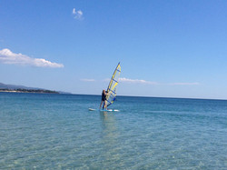 windsurfing na Margine Rosso