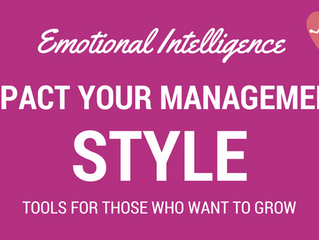 Emotional Intelligence: how can you impact your management style?