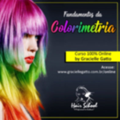 Curso de Colorimetria - OnLine - EAD