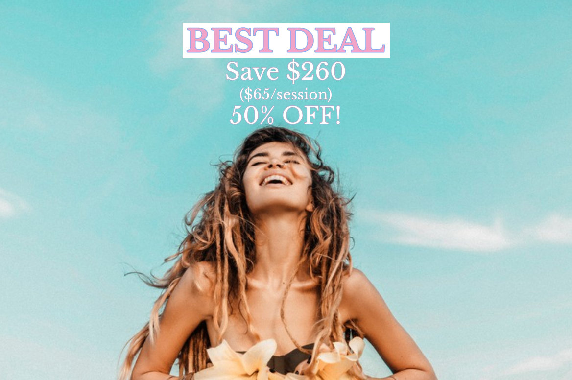 Save $260 on 90min Distance Reiki 4-Pack