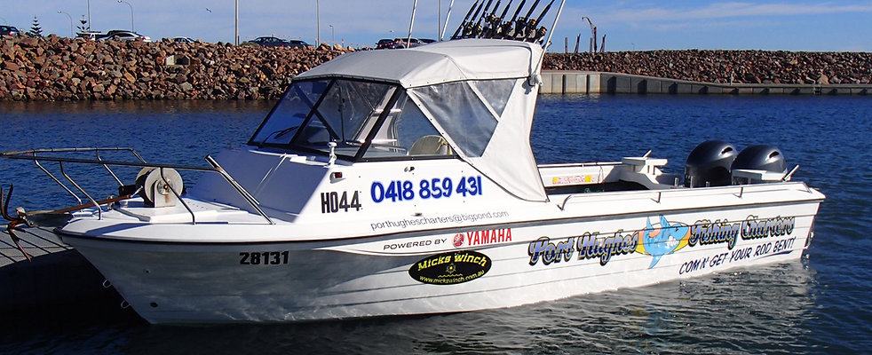 Port Hughes Fishing Charter Boat