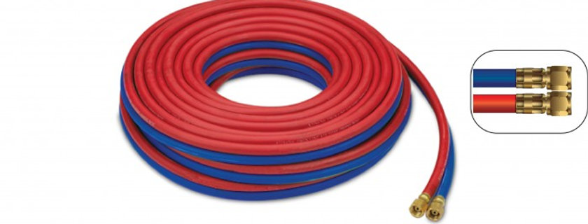 PVC Twin Line Welding Hose w/fitting set