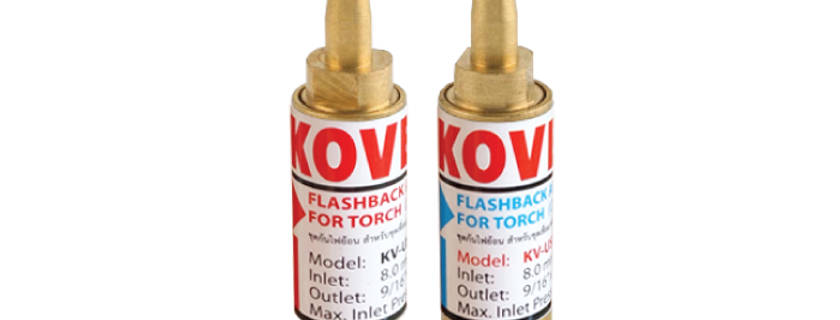 Torch Flashback Arrestor M14 x 18  KV-US588RH  KV-US588LH