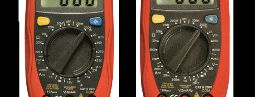 Palm Digital Multimeters  UT33B  UT33D