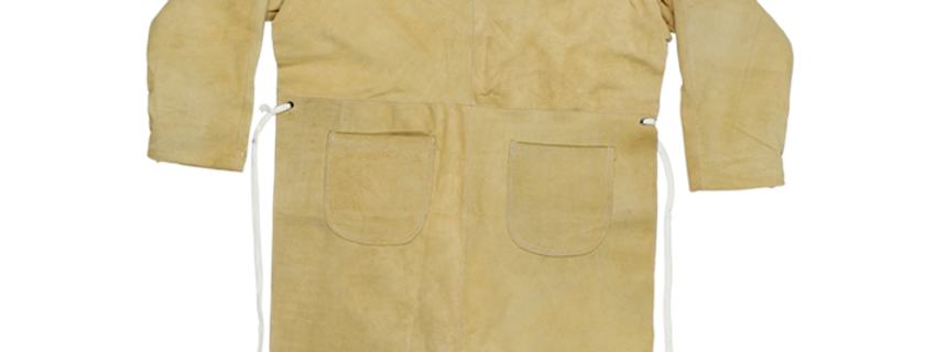 Leather Apron with sleeves and pockets GL01-021