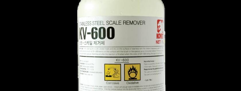 น้ำยาเช็ดรอยเชื่อมสแตนเลส KV-600