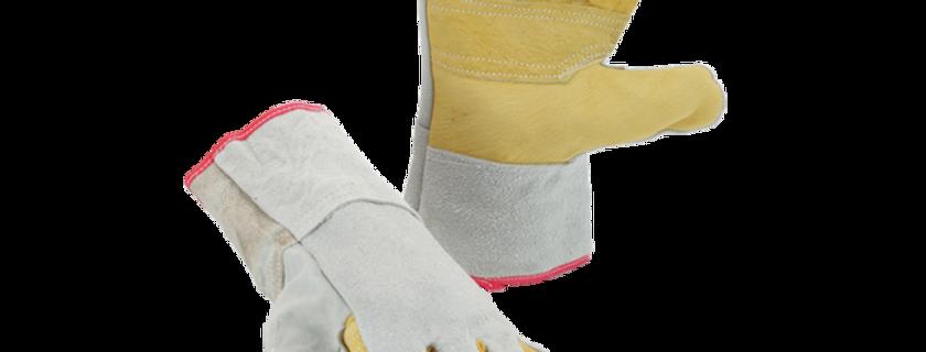 Cowhide Split Leather Gloves  GL01-007 (Long)  GL01-008 (Short)