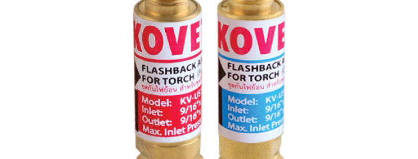 Torch Flashback Arrestor M14 x 18  KV-US188RH  KV-US188LH