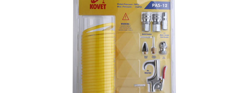 Pneumatic Accessory Set (12PCS) PAS-12