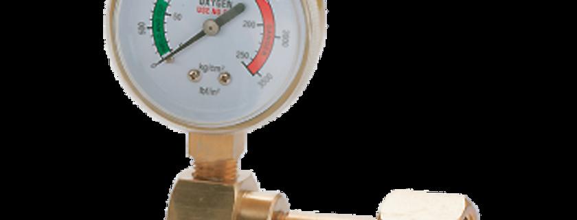 Pressure Gauge w/Connector