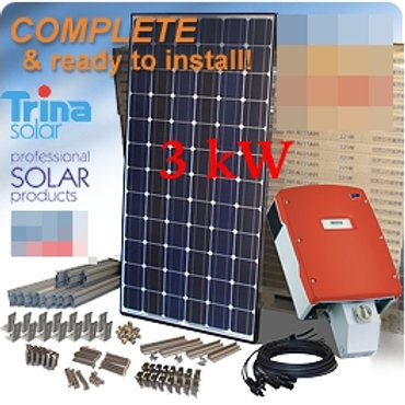 Trina Solar Home Kit 3 kW (Single phase)