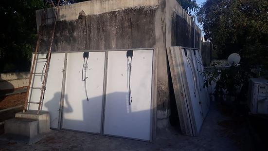 Dismantling of Photo Voltaic Solar Power Plant