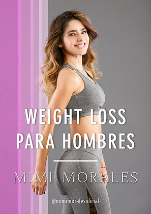 WEIGHT LOSS PARA HOMBRES