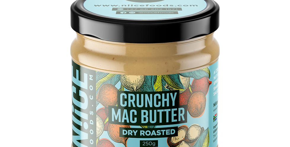 Crunchy Mac Nut Butter 250g