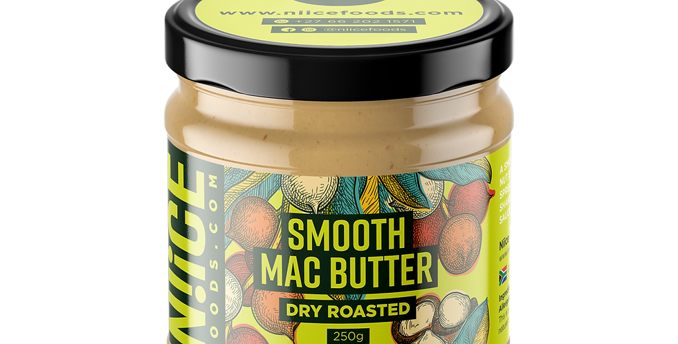 Smooth Mac Nut Butter 250g