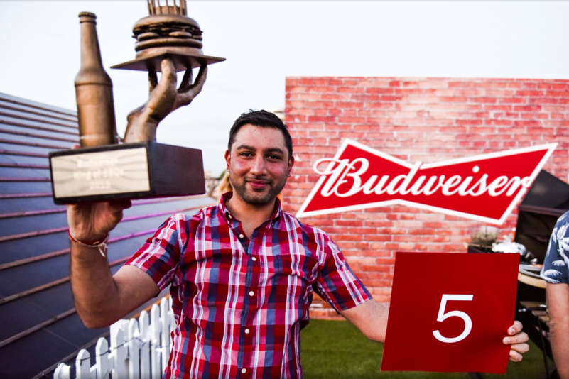 Budweiser King of BBQ's Trophy