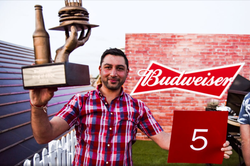 Budweiser King of BBQ's Trophy