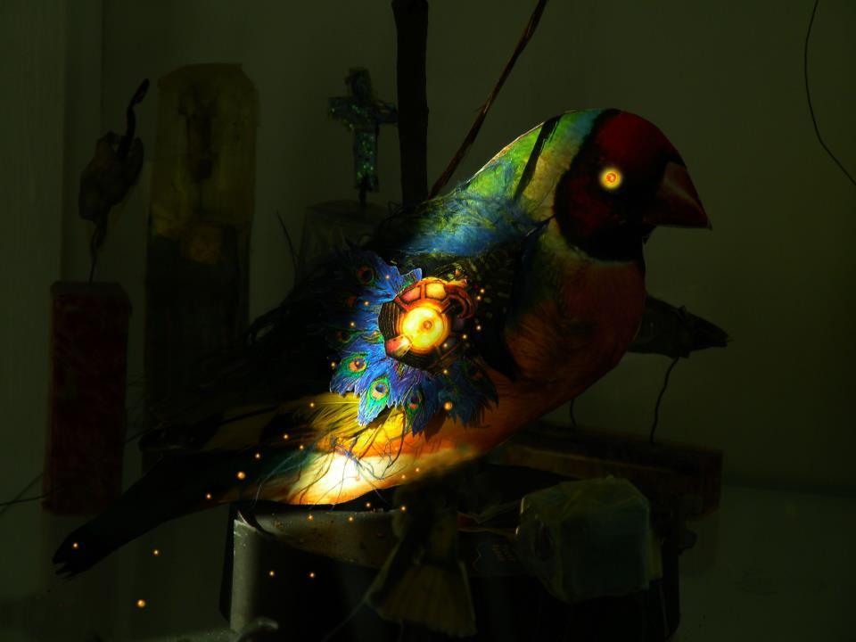 Glowing Bird I.