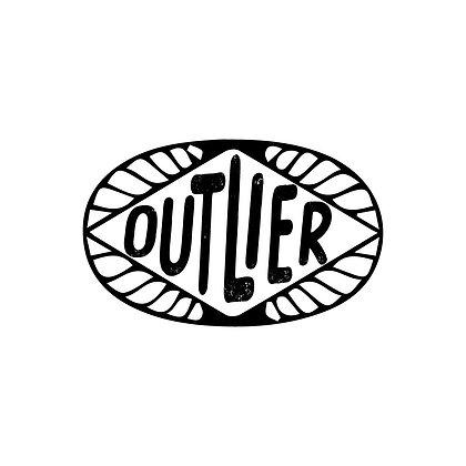 Outlier Badge Sticker