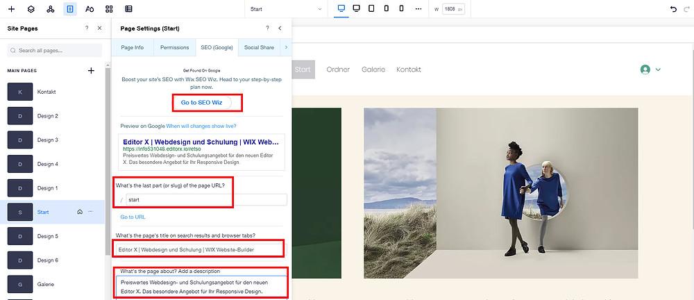 Gute Möglichkeiten für die Suchmaschinen-Optimierung