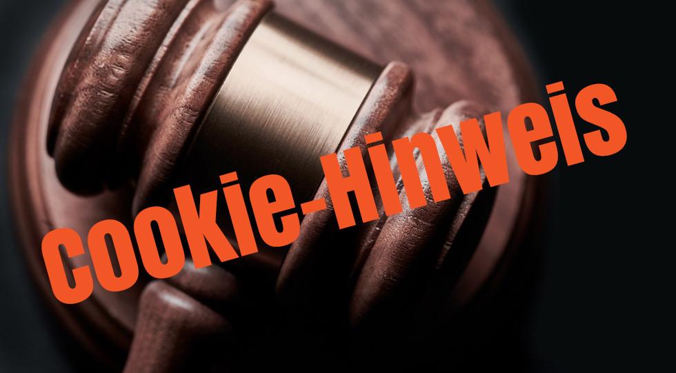 Cookie-Banner auf Webseiten