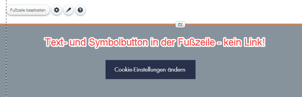 WIX-Button für Cookie-Änderungen anlegen