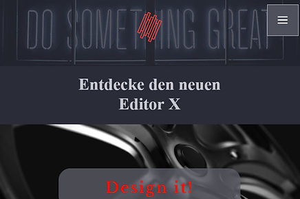 WIX EditorX