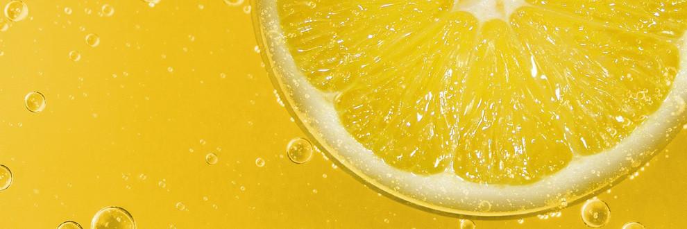 Die Farbe Gelb, prägnant und fröhlich