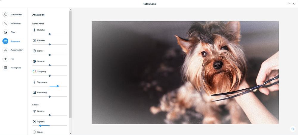 WIX Fotostudio auch für ADI verfügbar
