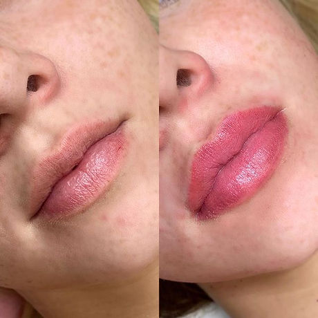 Lip shading is ideal for the girls that