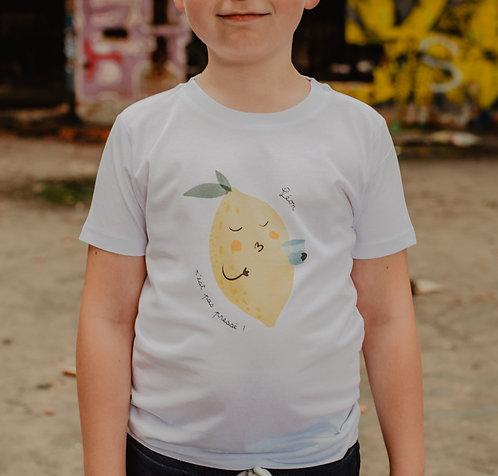 T-Shirt CITRON Enfant ou Bébé