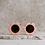 Thumbnail: Lunettes de soleil Fleur Orange