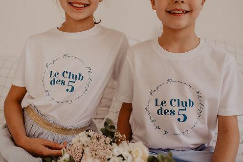 T-shirt LE CLUB enfant ou bébé