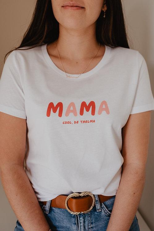 T-shirt femme blanc Sunshine