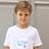 Thumbnail: T-shirt blanc LE CLUB enfant ou bébé
