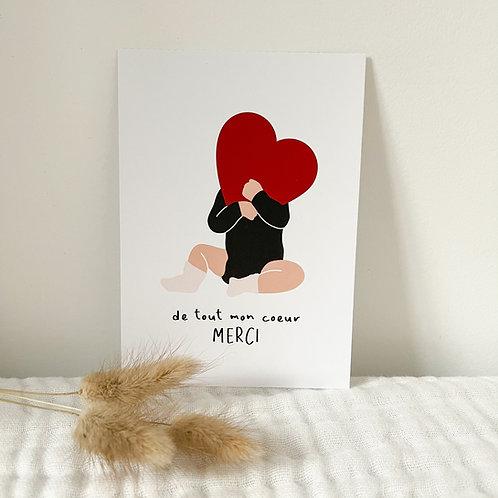 Carte postale A6 Enfant ou bébé
