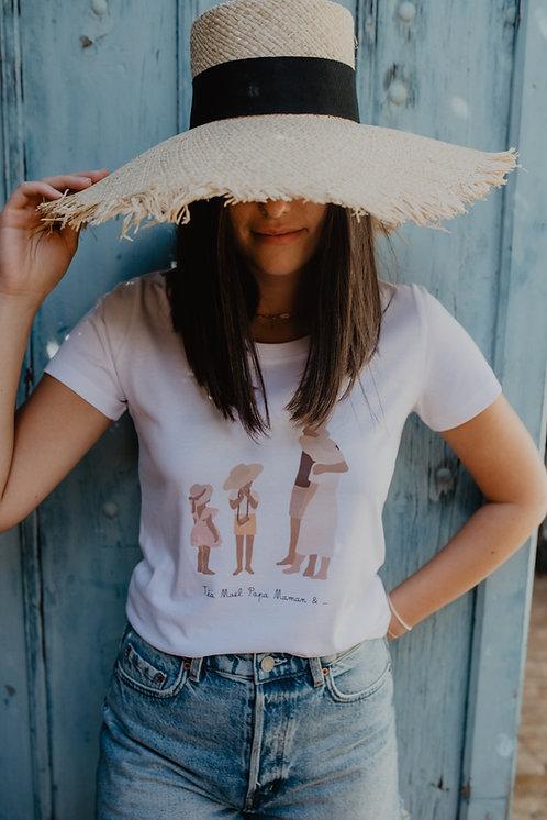 Tee-shirt Tribu UNISEXE collab retour de plage