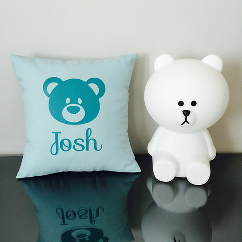 Coussin ours (+ couleurs)