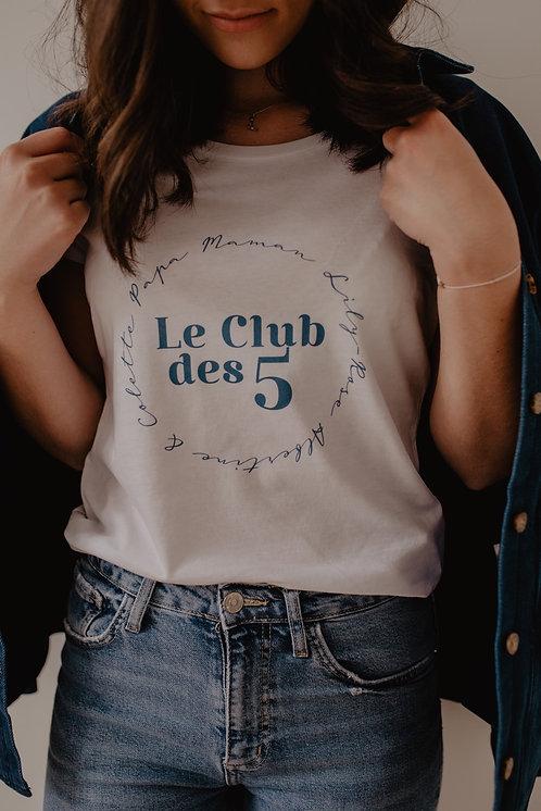 T-shirt blanc LE CLUB femme